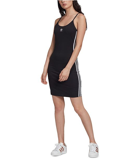 adidas Women's Adicolor 3-Stripe Tank Dress
