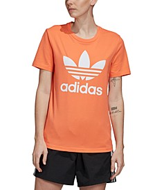 adidas Women's Adicolor Cotton Trefoil T-Shirt