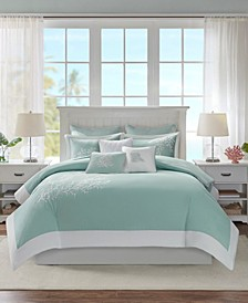 Coastline 3-Pc. King/California King Duvet Cover Mini Set