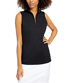 Sleeveless Mock-Neck Top, Created for Macy's