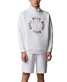 BOSS Men's Salboa High-Neck Sweatshirt