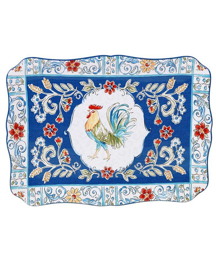 Tracy Porter - Morning Bloom Rectangular Platter