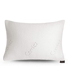 Shredded Memory Foam Bamboo Pillow - Adjustable Thickness - Queen