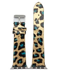 Glossy Leopard Apple Watch Band