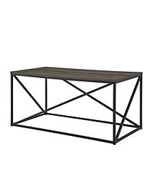 """40"""" Modern Geometric Coffee Table"""