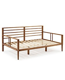 Mid-Century Modern Solid Wood Spindle Day Bed