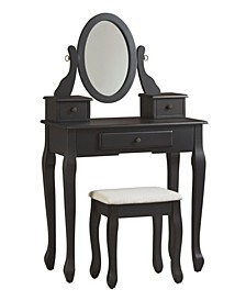 Huey Vineyard 3-Piece Vanity Set