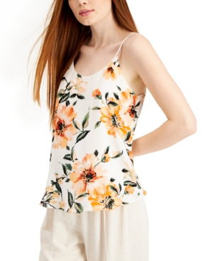 Floral-Print Camisole Top