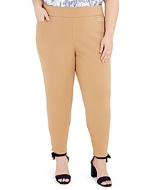 Plus Size Gramercy Pull-On Pants, Created for Macy's