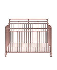Monarch Hill Hawken Metal 3 In 1 Convertible Crib