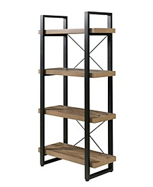 Bourbon Foundry 4-Tier Bookshelf