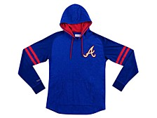 Atlanta Braves Men's Midweight Applique Hoodie