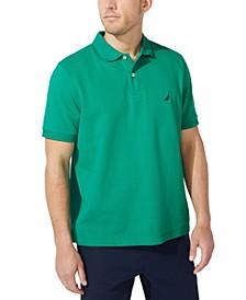 Men's Classic-Fit Pique Deck Solid Polo Shirt