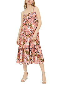 INC Sleeveless Floral Maxi Dress, Created for Macy's