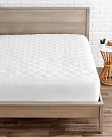 Quilted Fitted Mattress Pad, Full XL