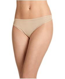 Women's TrueFit Promise One Size Thong Underwear 3378