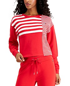 Striped Colorblocked Top