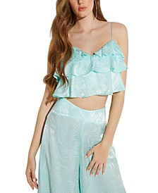 Desta Ruffled Crop Top