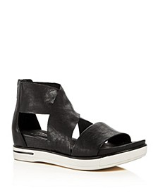 Women's Sport Wedge Platform Sandals