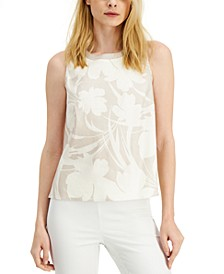 Shadow-Print Top, Created for Macy's