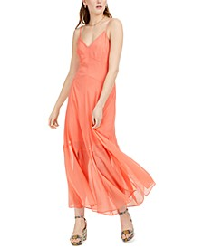 Solid Crinkle Maxi Dress, Created for Macy's