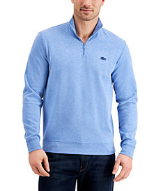 Lacoste Men's Quarter-Zip Sweater