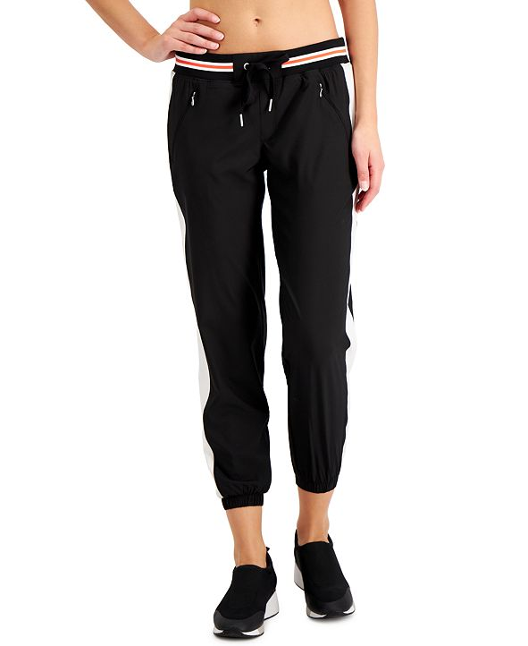Calvin Klein Colorblocked Striped Joggers