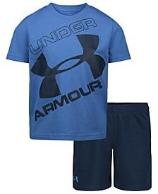 Little Boys 2-Pc. T-Shirt & Shorts Set