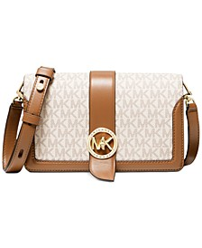 Signature Charm Triple Gusset Crossbody