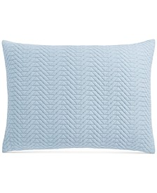 "Baja Cotton 20"" x 26"" Standard Sham, Created for Macy's"