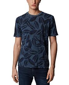 BOSS Men's Tekapok Cotton-Blend T-Shirt