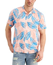 Men's Tulum Palm Camp Shirt, Created for Macy's