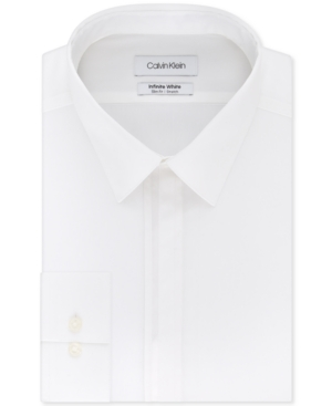 Calvin Klein Men's Infinite Color Slim-Fit Non-Iron Performance Stretch Dress Shirt