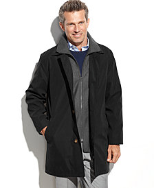 Lauren Ralph Lauren Edgar Classic Fit Raincoat with Removable Lining