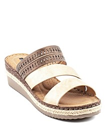 Lupe Wedge Sandal