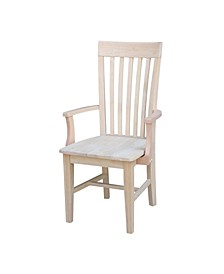 Tall Mission Chair with Arms