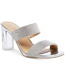 Zandria Two-Piece Mules, Created for Macy's