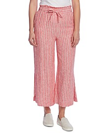 Tranquil Stripe Wide Leg Pant