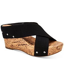 Kantonn Office Wedge Sandals, Created for Macy's