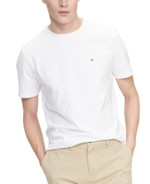 Tommy Hilfiger Men's Performance Stretch Solid T-Shirt