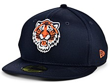 Kids Detroit Tigers 2020 Clubhouse 59FIFTY-FITTED Cap