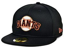 Kids San Francisco Giants 2020 Clubhouse 59FIFTY-FITTED Cap