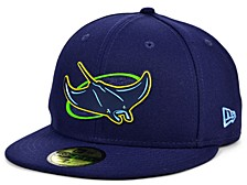 Tampa Bay Rays 2020 Kids Clubhouse 59FIFTY-FITTED Cap