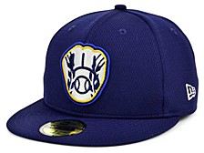Milwaukee Brewers 2020 Batting Practice 59FIFTY-FITTED Cap