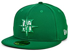 Seattle Mariners 2020 Men's St. Pattys Day Fitted Cap