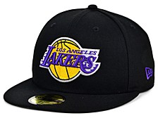 Los Angeles Lakers Men's All Around Fitted Cap