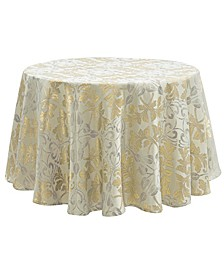 "Octavia 90"" Round Tablecloth"