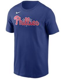 Philadelphia Phillies  Men's Swoosh Wordmark T-Shirt