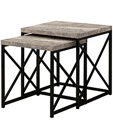 Nesting Table - 2 Piece Set Reclaimed