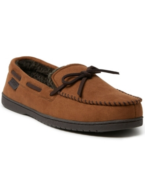 Men's Toby Microsuede Moccasin Tie Slippers Men's Shoes